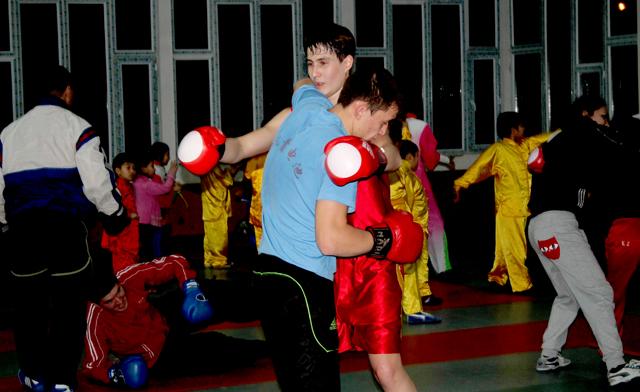 Никита Панченко в спаринге