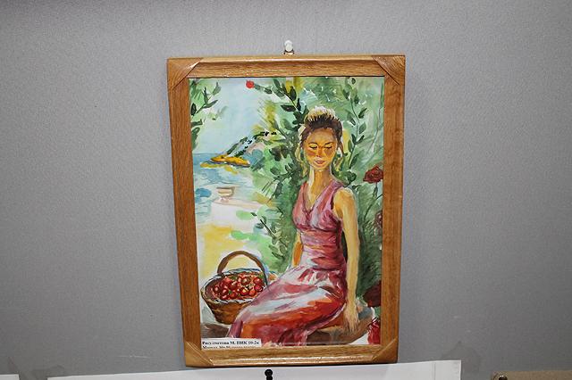 На выставке было представлено 5 работ
