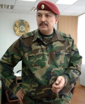 В Казахстане новый Главнокомандующий внутренними войсками Министерства внутренних дел