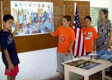 В гимназии успешно функционирует летний английский лагерь