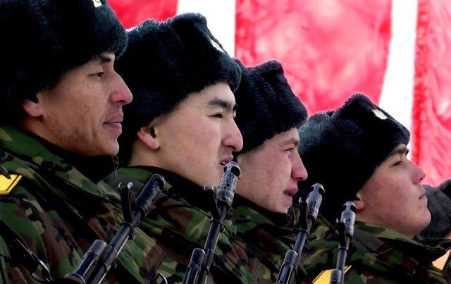 В числе новобранцев, которые принимали присягу в этот день, и Биржан Идыришев из Астаны
