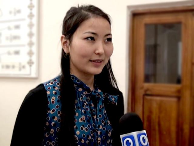 Гулисхан Нахбаева, гроссмейстер в разговоре с журналистами