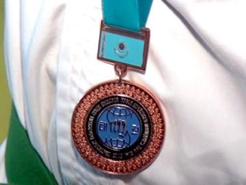Золотая медаль по таэквон-до