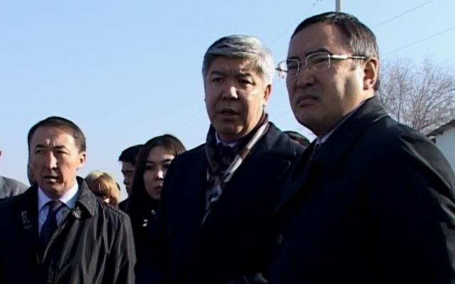 Министр охраны окружающей среды Нурлан Каппаров