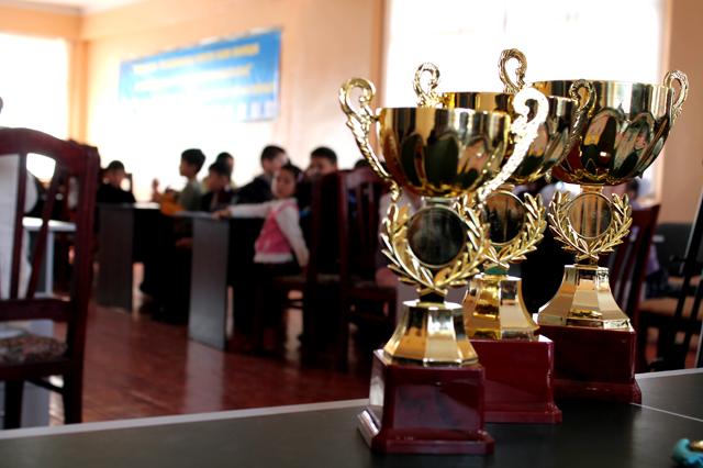 Итоговый чемпионат области по тогызкумалак среди школьников