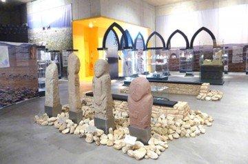 Вид на экспозицию древнетюркского и средневекового периодов