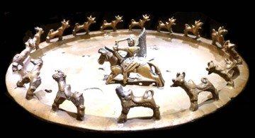 Ритуальный бронзовый жертвенник