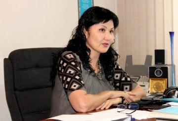 Салтанат Каракозова, пресс-секретарь ДВД ЮКО
