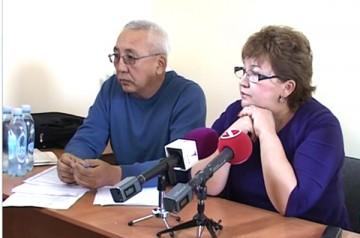 После заявления полицейских свою точку зрения выразили защитники Алии Жумановой