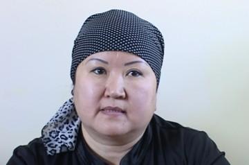 Сестра Алии Жумановой