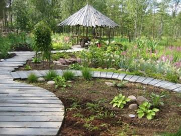 Чем меньше сад похож на рукотворный, тем лучше