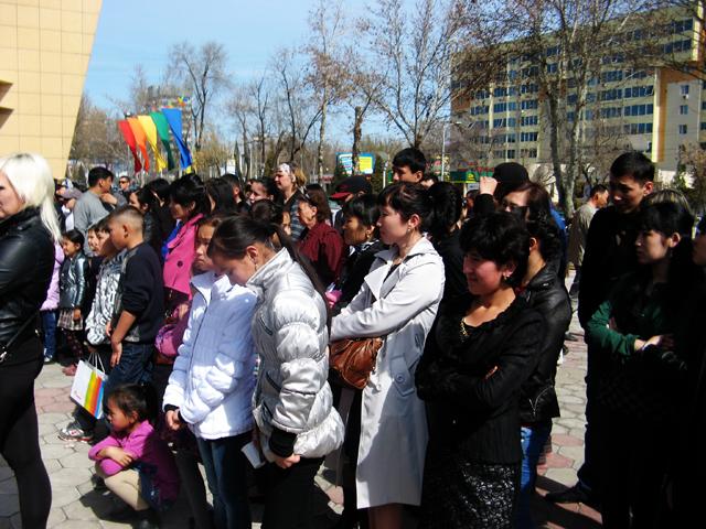 Отпраздновать Наурыз вместе с Мега центром пришло немало горожан