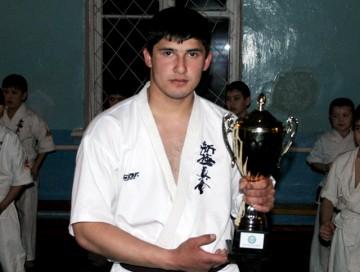 Фарух Исматуллаев, чемпион Казахстана по кудо