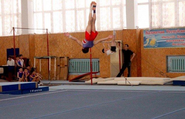 Великолепный прыжок в исполнении Константина Руденко