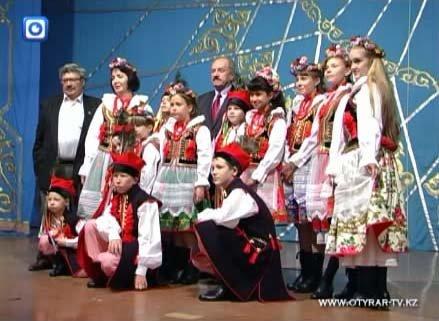 Ребятам из областного польского культурного центра перед высокими гостями выступать не впервой
