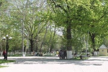 Шымкент. Центральный парк. 2013 г.