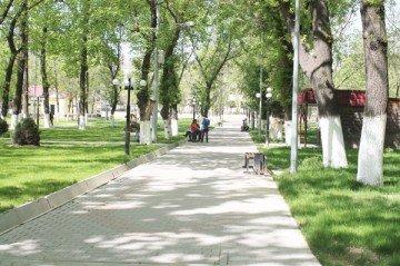 Шымкент. Центральный парк.2013 г.