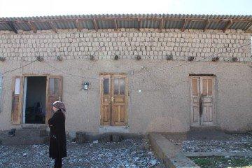 Домик, в котором живет многодетное семейство