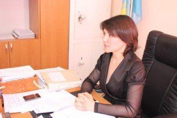 Акмарал Саметова, начальник отдела ЗАГС сайрамского района