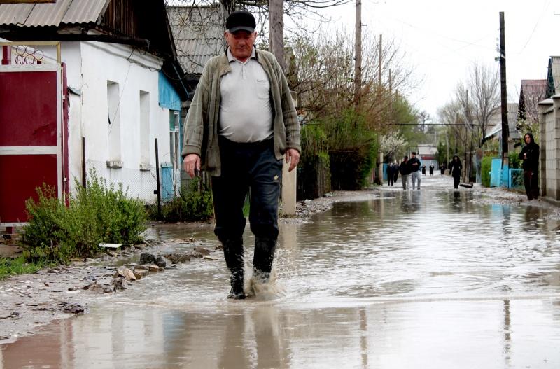 Затоп на улице Кожедуба