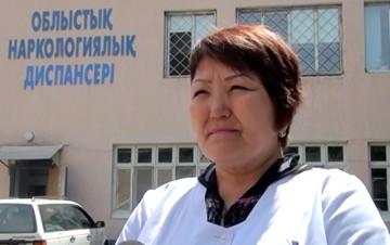 Асем Шаукенбаева, врач-нарколог областного наркологического диспансера