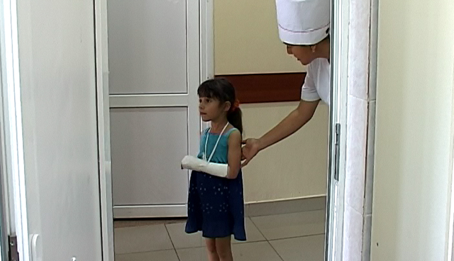 В день в областную детскую больницу привозят 20-25 детей с травмами