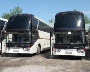 Автобусы прибыли прямиком с завода