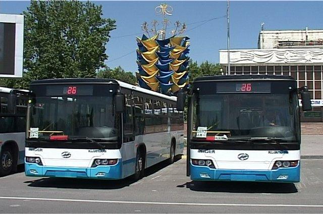 Горожане будут ездить на новых автобусах