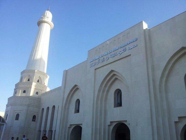 Открытие новой мечети в Шымкенте