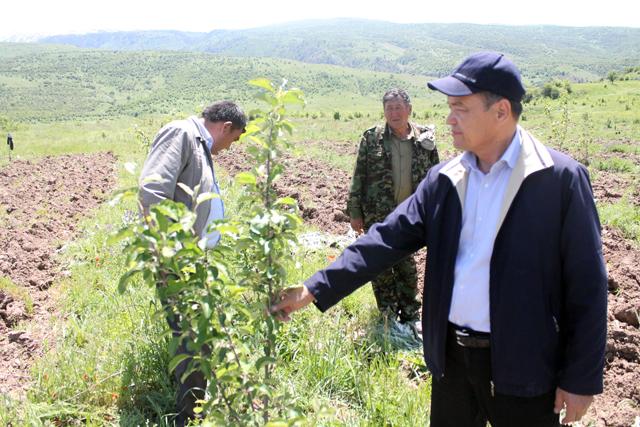Директор государственного национального природного парка Жунисбек Турганов