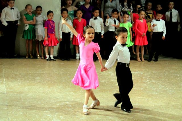 Самые маленькие участники международного турнира в Шымкенте