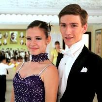 Олег Скиданов и Алена Телеупова, танцевальная пара из Шымкента