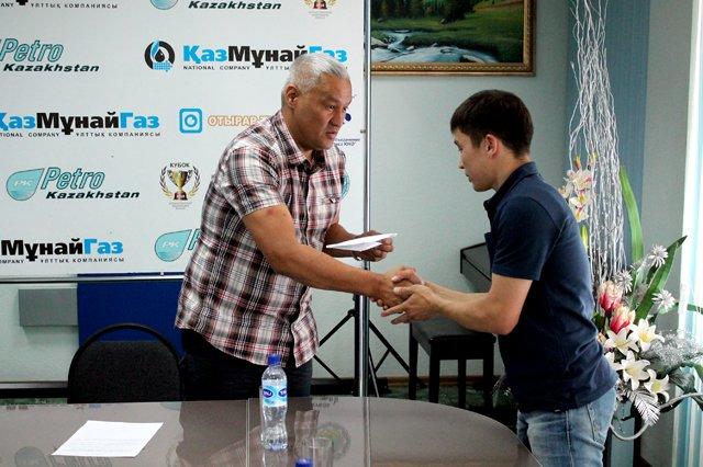 Поздравления от исполнительного директора федерации бокса ЮКО