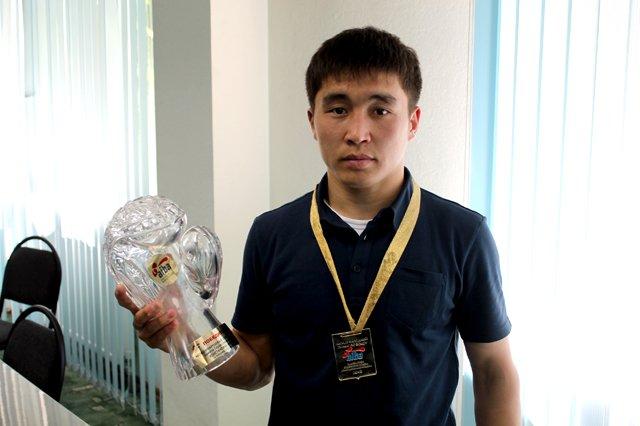 Кайрат Ералиев, победитель международного турнира