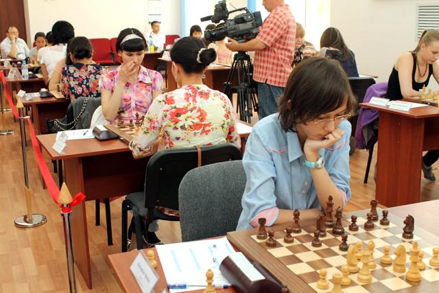 Республиканское первенство по шахматам в Шымкенте