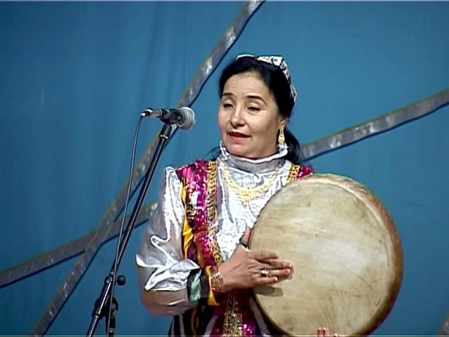 Узбекский национальный музыкальный инструмент Дойра (Бубен)