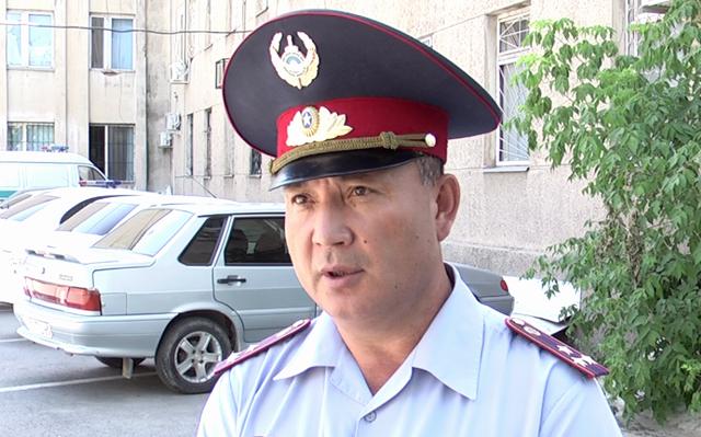 Галымжан Есимов, заместитель начальника УДП ДВД ЮКО