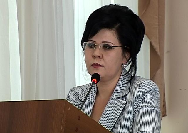 Жанат Тажиева, начальник ГорОНО