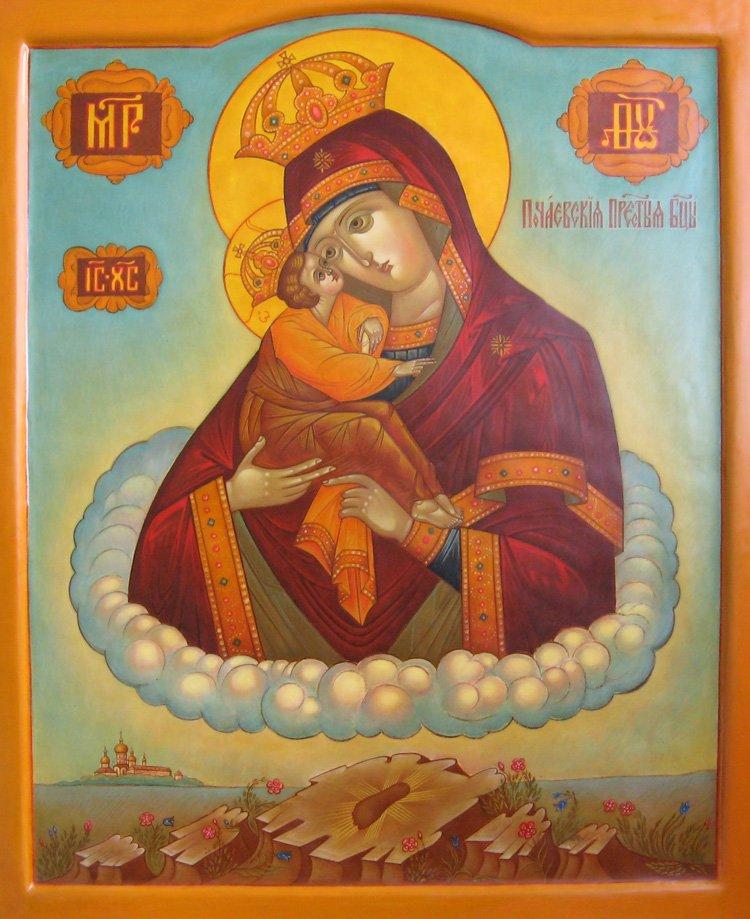 Почаевская икона Божьей Матери.