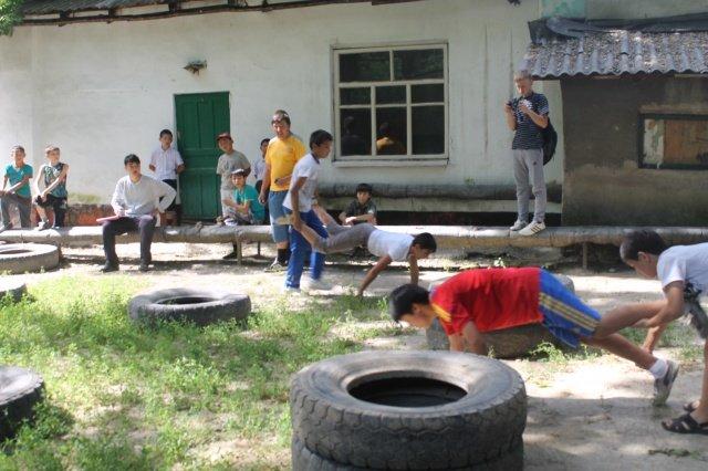 Состязание продолжилось в спортивном ключе