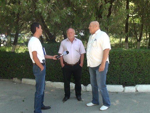 Василий Кемер и Геннадий Чхартвишвили