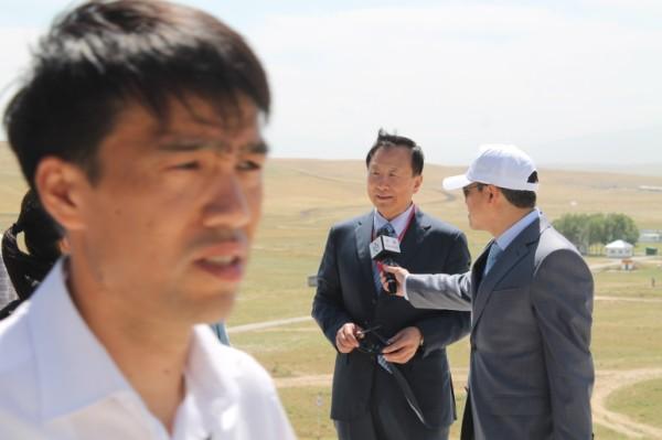 Директор исполнительного комитета региональной антитеррористической структуры  ШОС Чжань Синьфэн