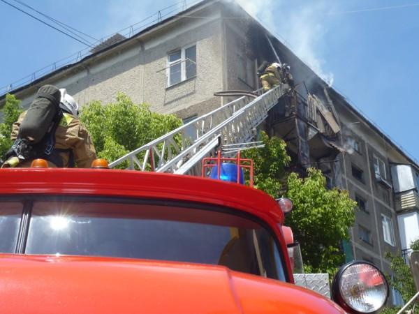 В Шымкенте произошло несколько пожаров