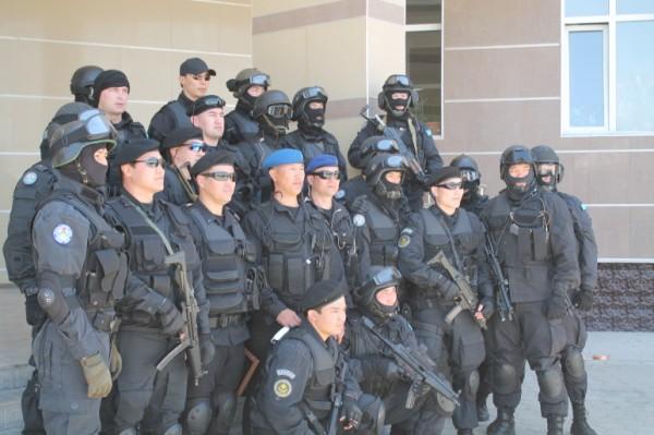 Спецназ службы охраны президента РК