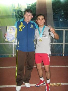 Бисолт Дециев и Жолдыбай Токбаев