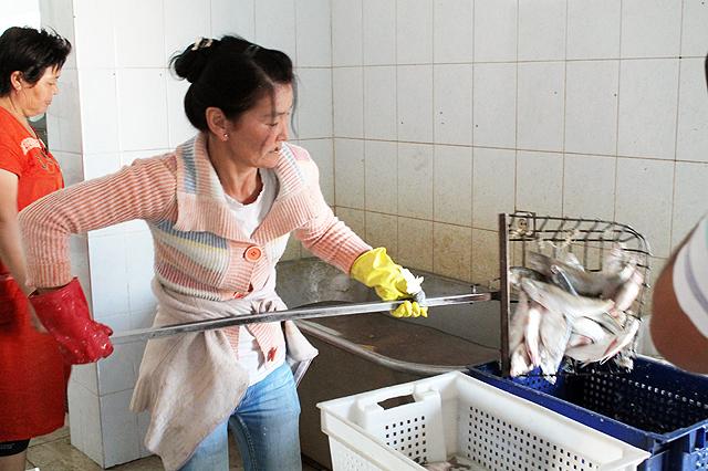 Рыба на завод поступает не только из местных водоемов, но и привозится из других городов Казахстана.