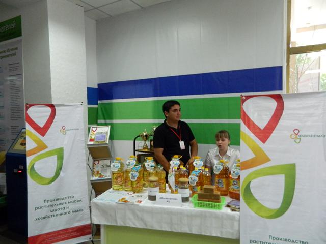 На выставку представили свои товары больше 30 предприятий Южного Казахстана.