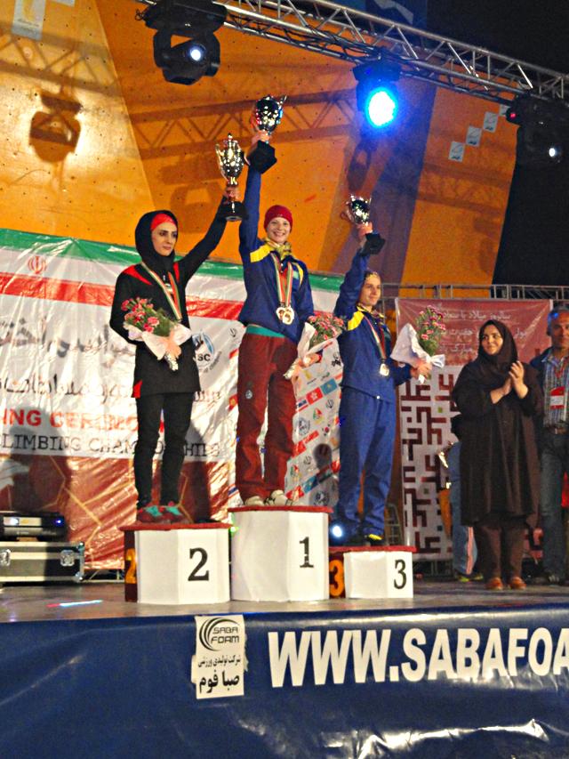 Кубок чемпионов Азии по скалолазанию завоевала Казахстанская сборная