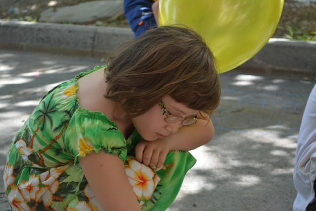 Веселый праздник для слабовидящих детей