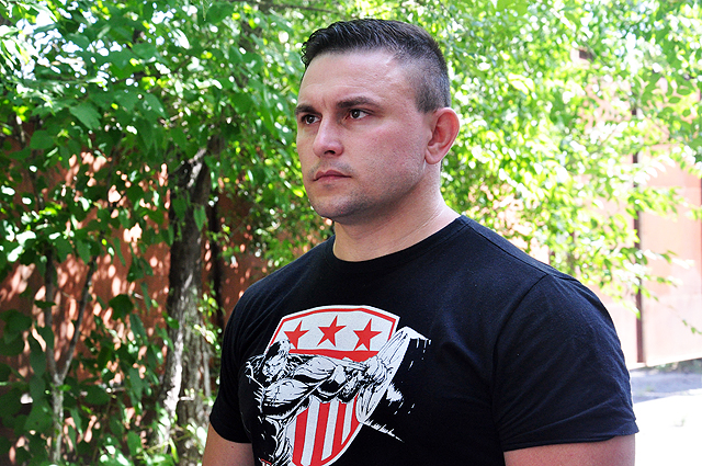 Сергей Рашитов, тренер.